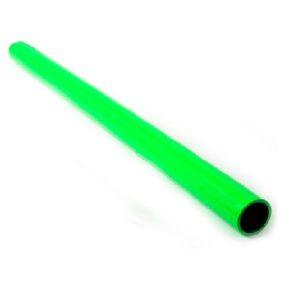 Straight Silicone Hose 1m. Green